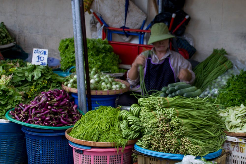 Chiang Mai is the Muang mai market