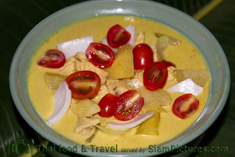 Thai yellow curry or Kaeng Kari