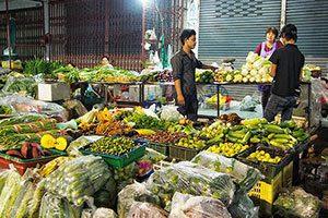 Phuket down town market.