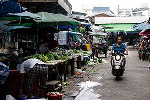 Udon Thani street life