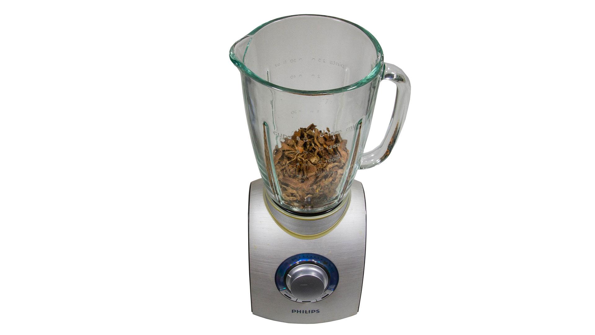 How to make turmeric powder. 09