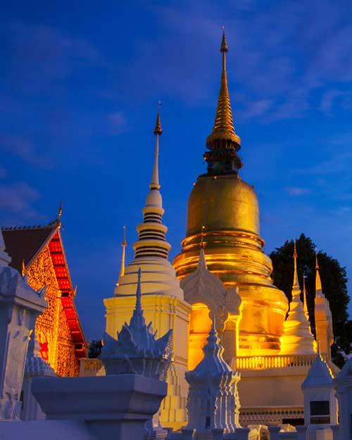 Wat-Suan-dok-hiang-Mai