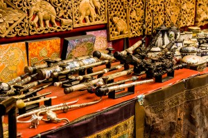 opium pipes
